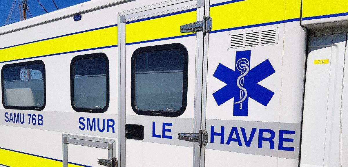 Le Havre. Deux accidents :un motard et un passager gravementblessés