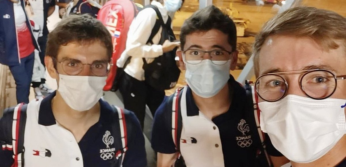 JO de Tokyo: Guillaume Martin et BenoîtCosnefroy sont arrivés