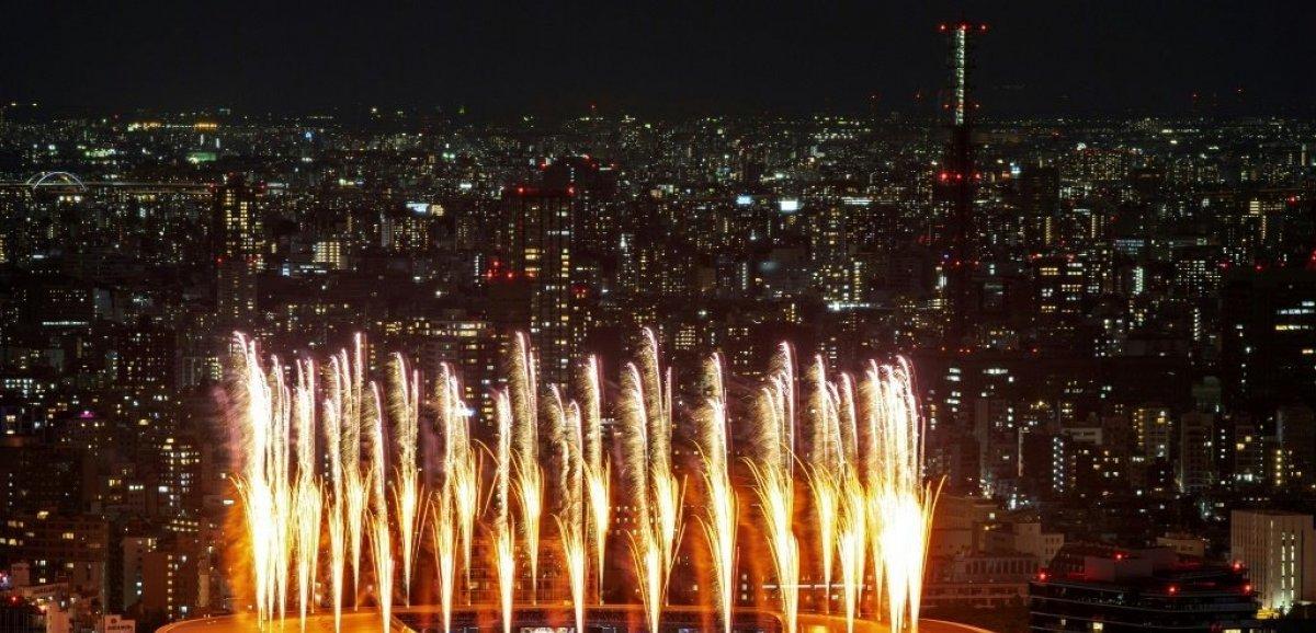 JO-2020: la cérémonie d'ouverture des Jeux de Tokyo a débuté