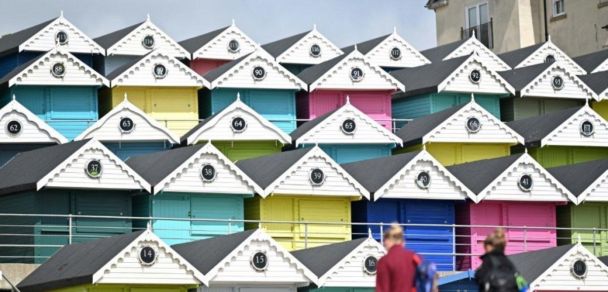 Sur les côtes anglaises, les cabines de plage s'arrachent pendant la pandémie