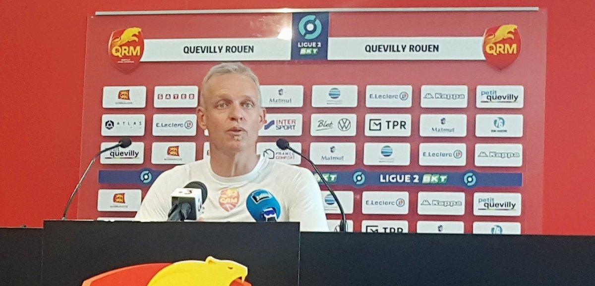 Football (Ligue 2). Avant Dunkerque-QRM, Bruno Irles confiant malgré un effectif réduit