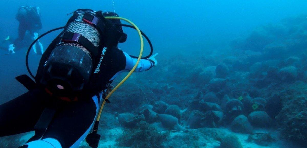 Grèce: au musée sous-marin d'Alonissos,