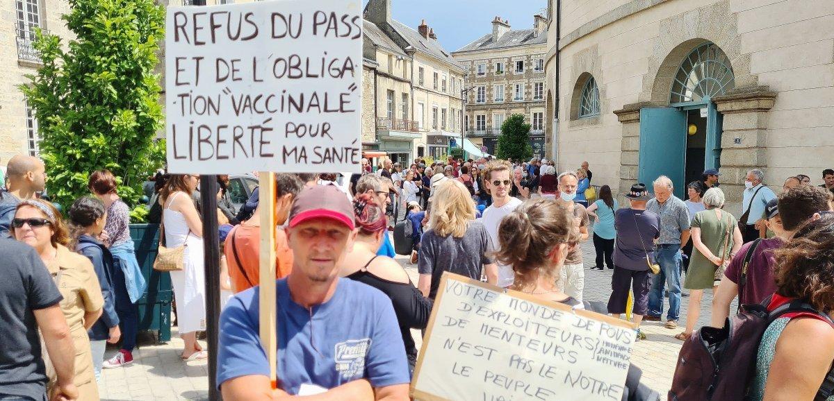 [Vidéo] Normandie. Des milliers de manifestants contre le pass sanitaire