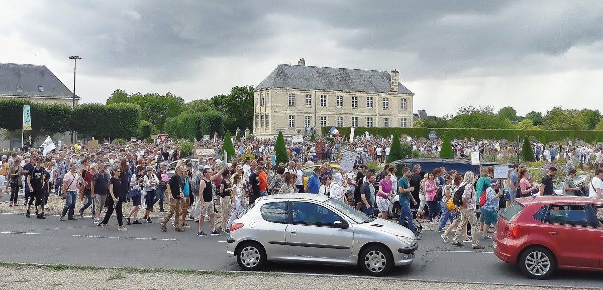 Caen. Près de 2 500 personnes lors de la manifestation contre le pass sanitaire