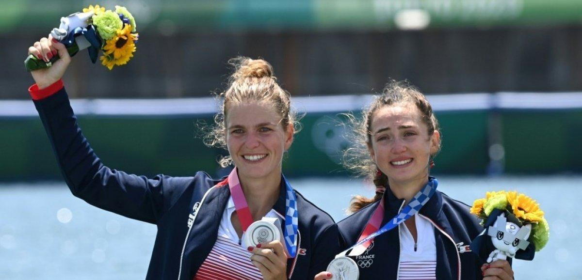 JO-2020/Aviron: Bové et Tarantola en argent, 9e médaille pour la France