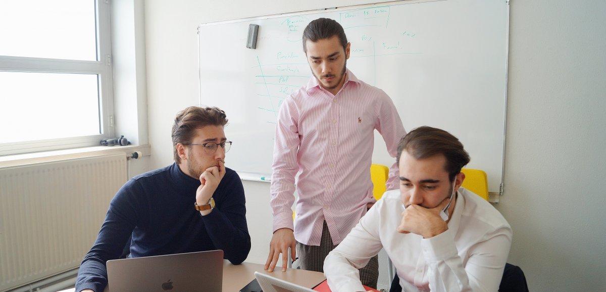 Avec Expat's facilities, trois Rouennais aidentles étudiantsà voyager