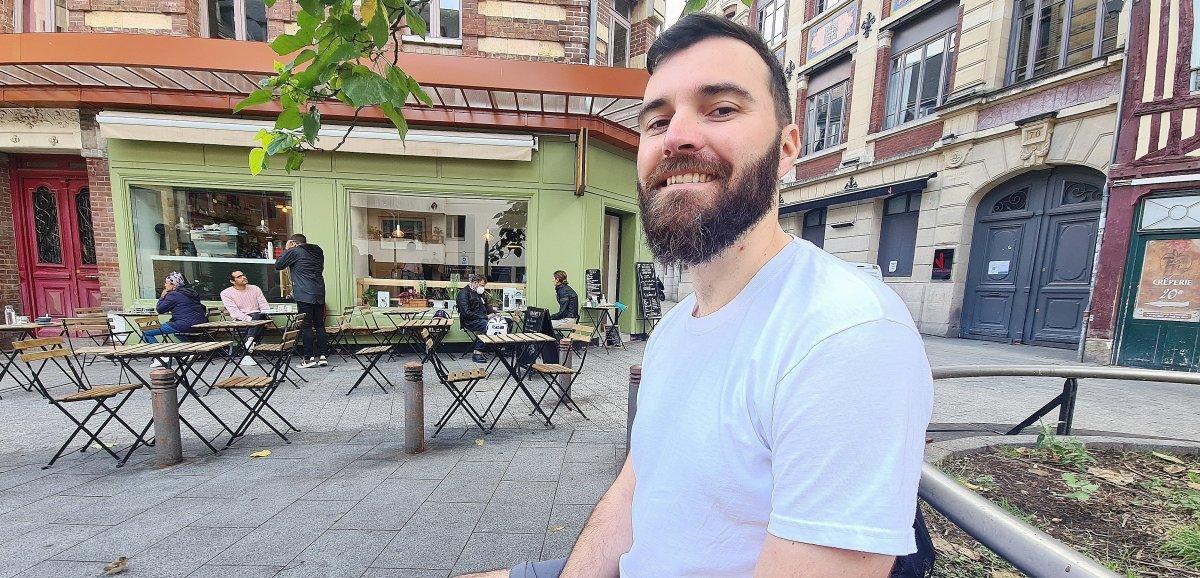 Rouen. ArnaudHéroult veut partagerson amour du bon café