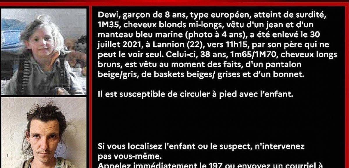France-Monde. Alerte enlèvement déclenchée pour un enfant de 8 ans en Bretagne