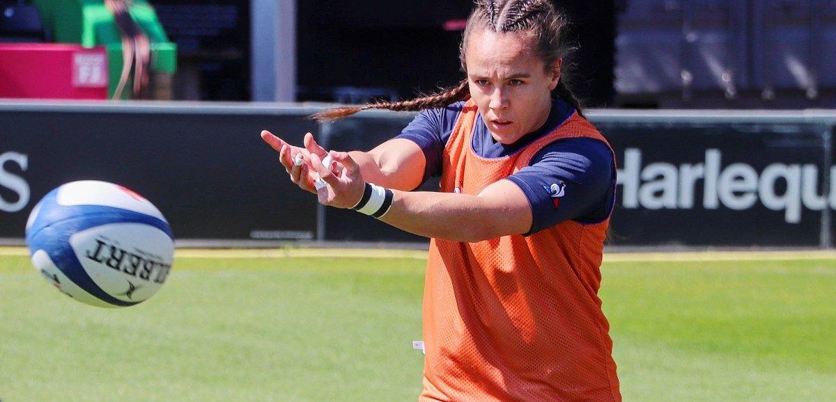 Fécamp. Rugby à 7: la Fécampoise Jade Ulutule en argent avec les bleues aux JO
