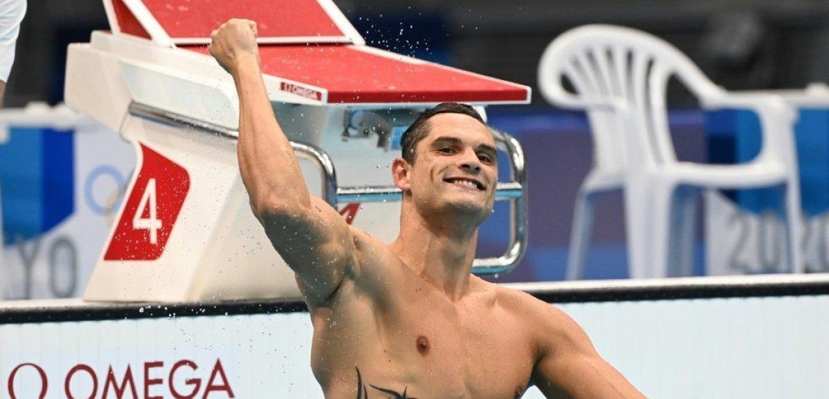 JO-2020/Natation: Florent Manaudou en argent sur 50 m, derrière Dressel