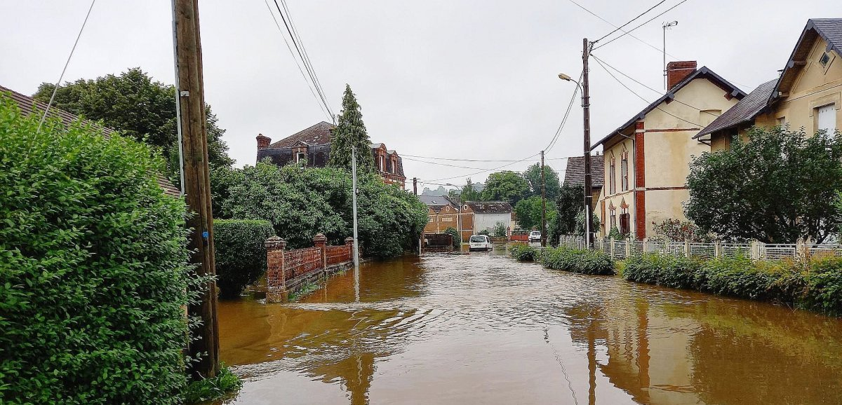 Inondationsdans l'Orne. La préfecture reconnaît l'état de catastrophe naturelle