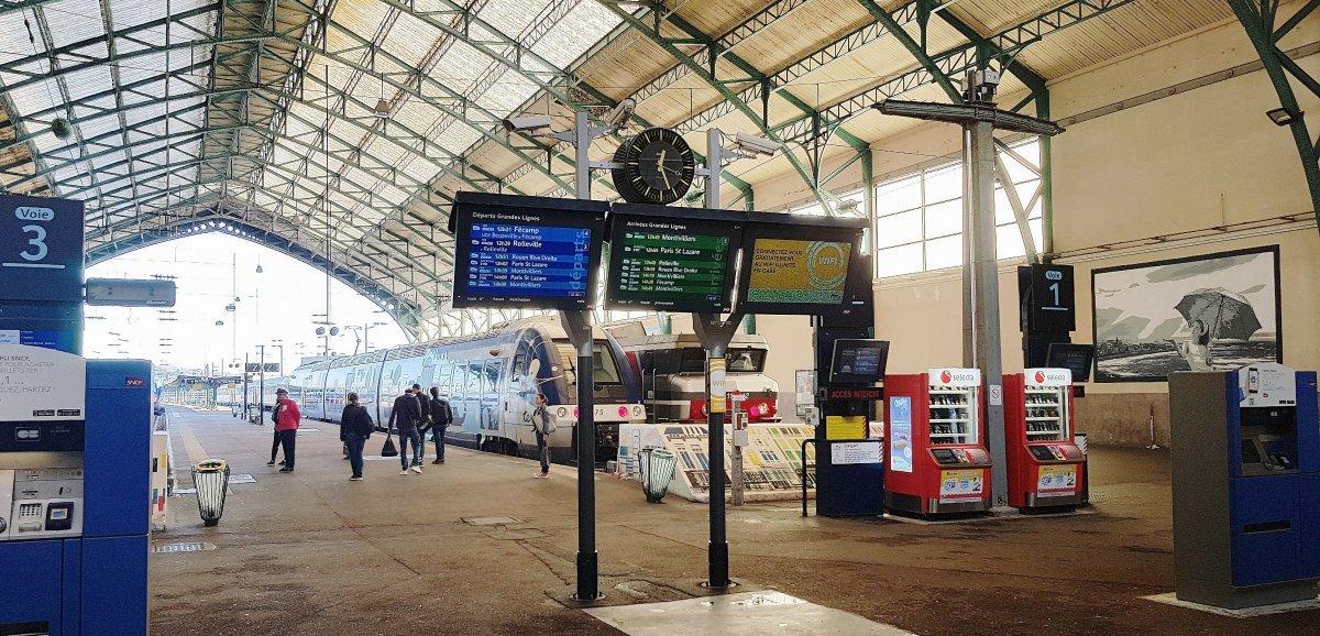 Le Havre. Alerte au colis suspect à la gare,le trafic SNCF perturbé
