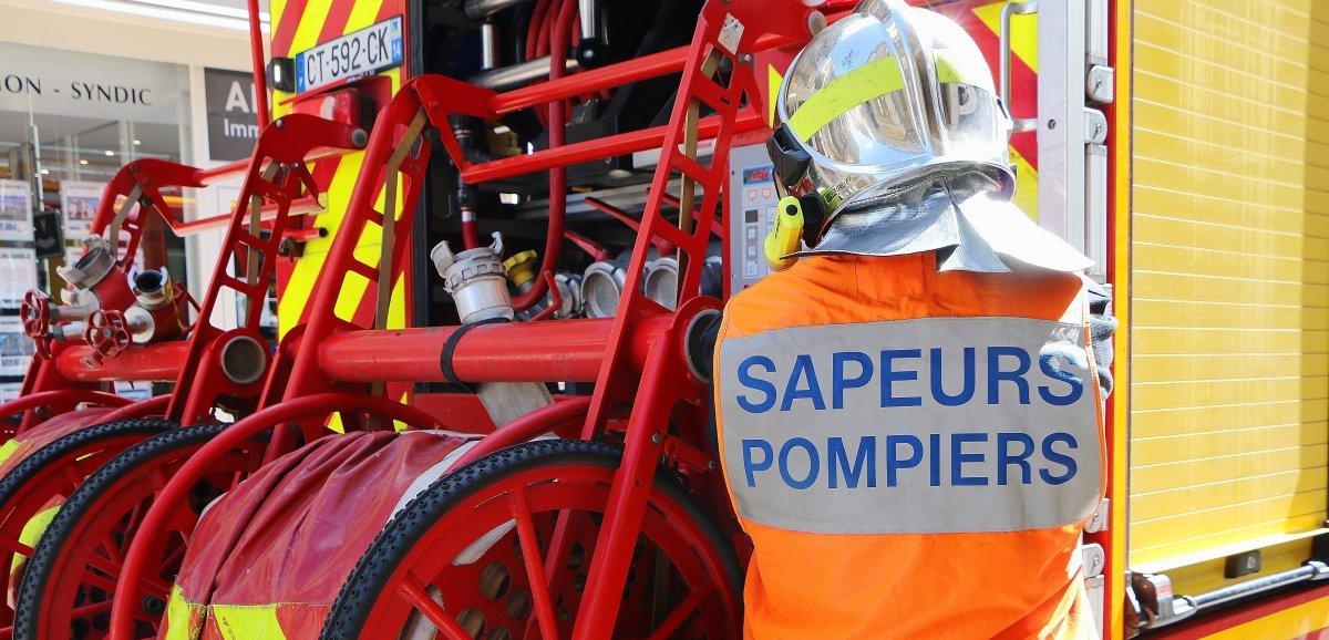Près de Rouen. Trois personnes intoxiquées dans l'incendie d'un foyer