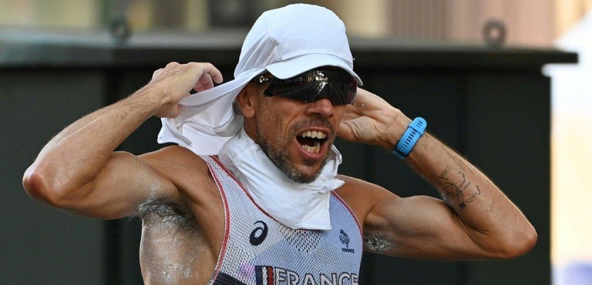 JO-2020: abandon de Yohann Diniz sur le 50 km marche, sa dernière course