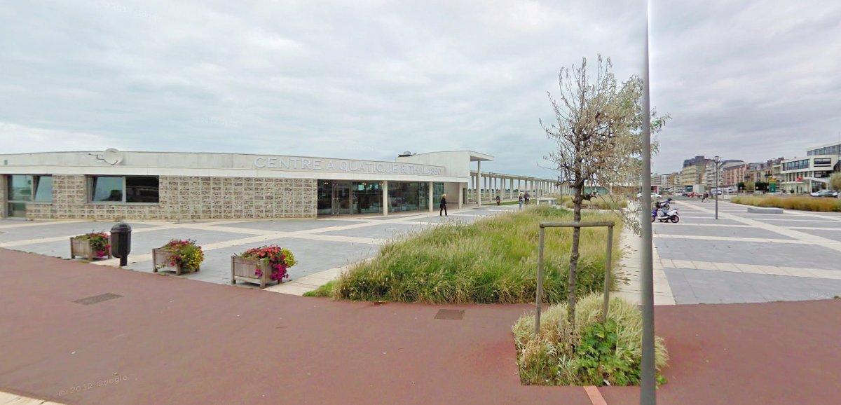 Dieppe. Dégagement de fumée aux au centre aquatique Les Bains