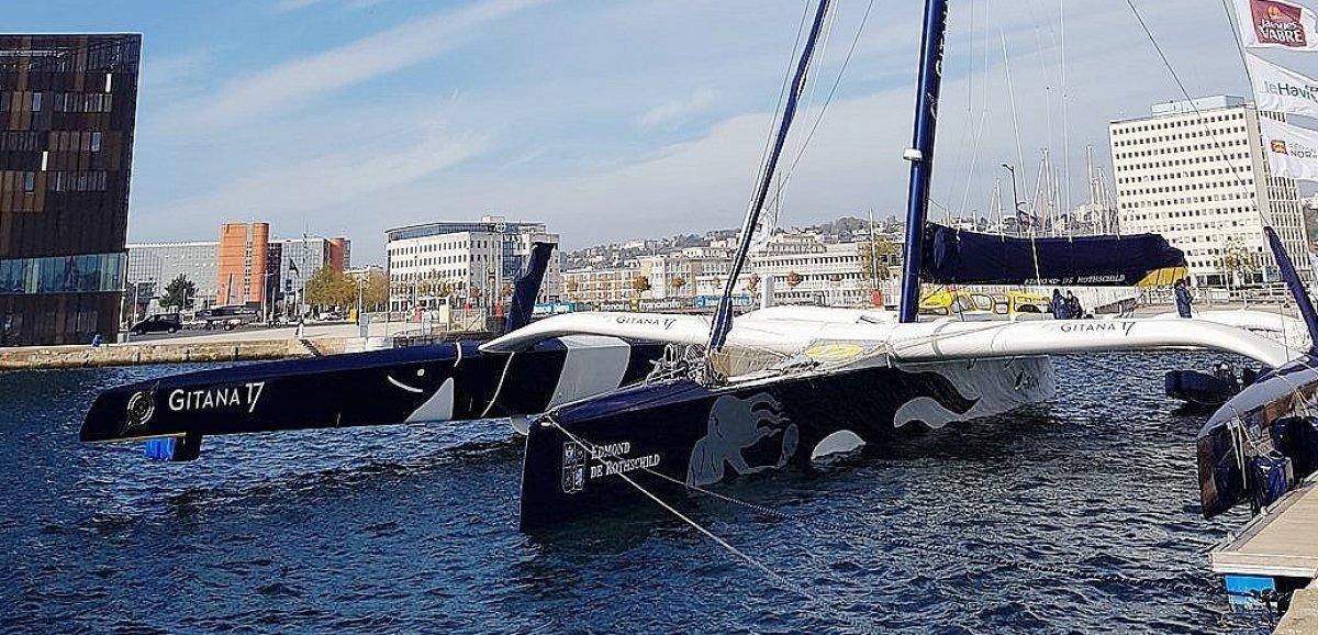 Cherbourg-en-Cotentin. Le maxi-trimaran Edmond de Rothschild remporte la Rolex Fastnet