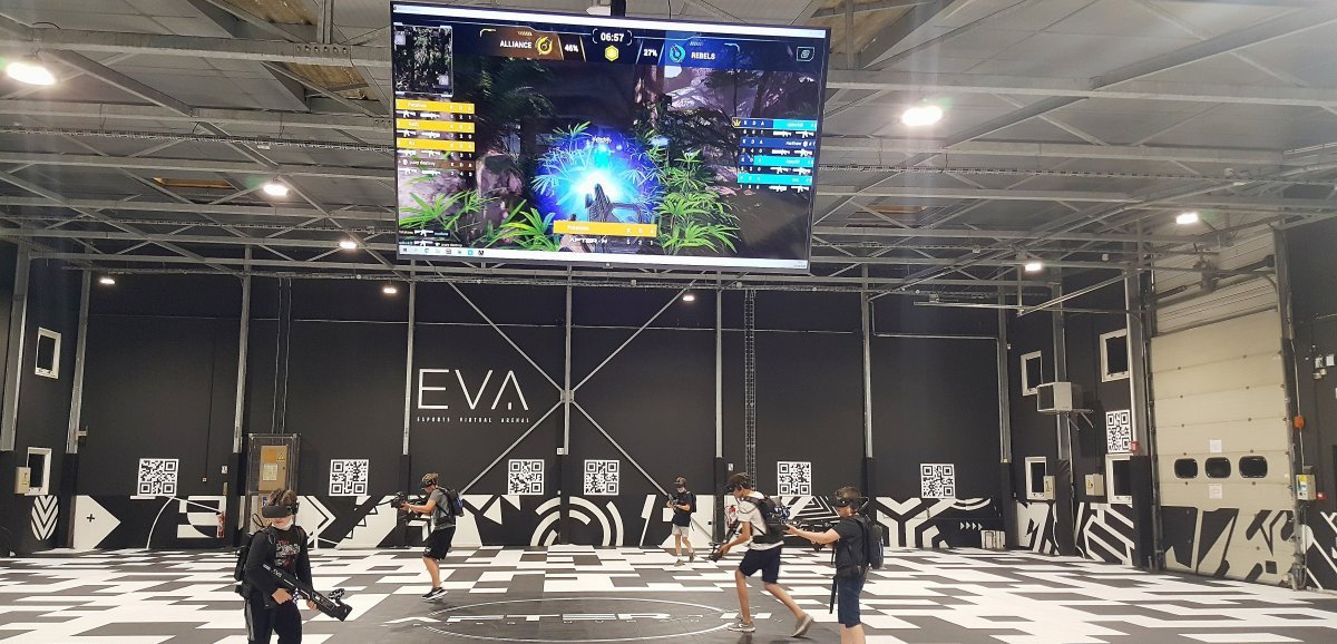 Près de Rouen. EVA: une nouvelle offre de jeu vidéo en réalité virtuelle