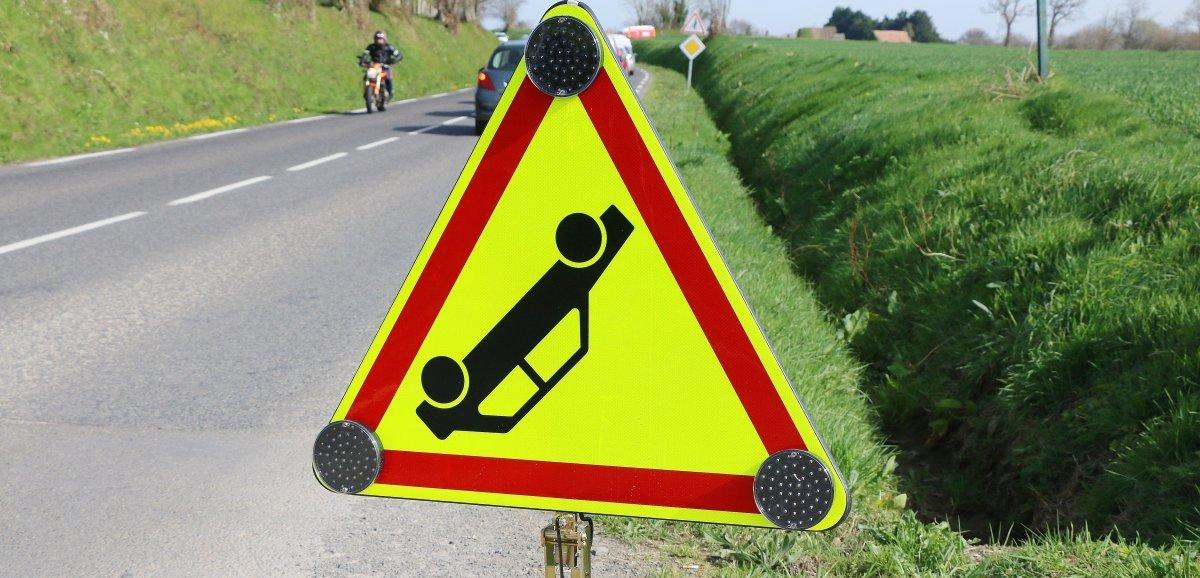 Un accident entre deux voitures fait trois blessés