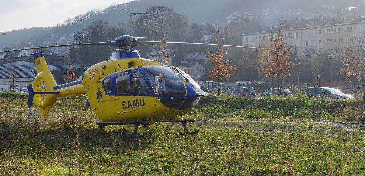 Seine-Maritime. Un motard grièvement blessé après avoir percuté un camion