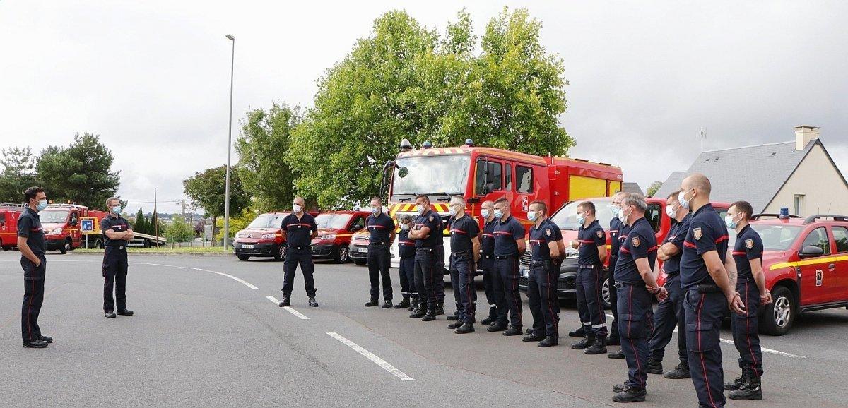 Les sapeurs-pompiers de la Manche sont formés tout au long de l'année