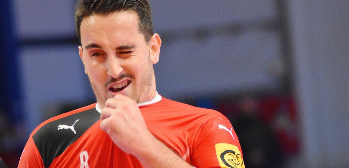 Handball(TrophéedesVikings). Caen craque sur la fin contre Angers, après un beau retour