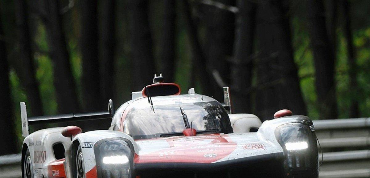 24 Heures du Mans: la Toyota N.7 brise la malédiction