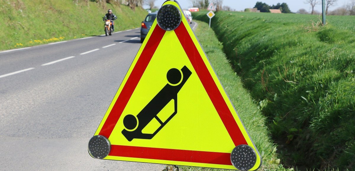 Près de Lisieux. Trois blessés dans un accident impliquant deux véhicules