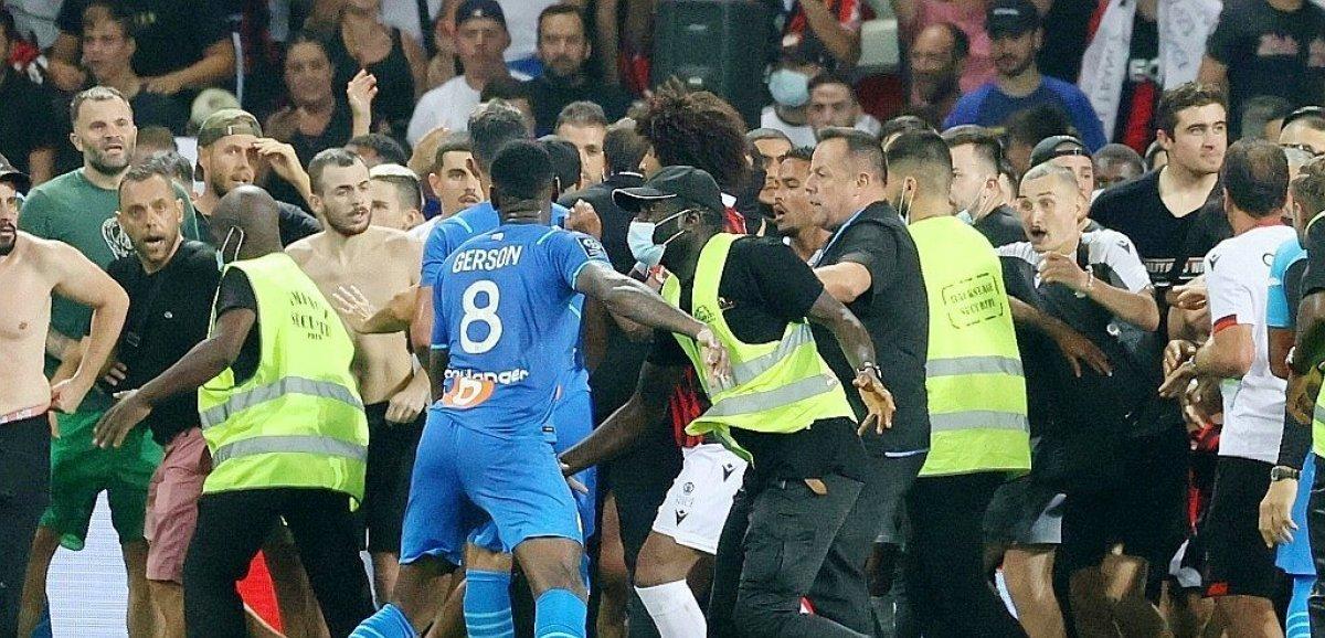 Ligue 1: Nice-Marseille, après le chaos