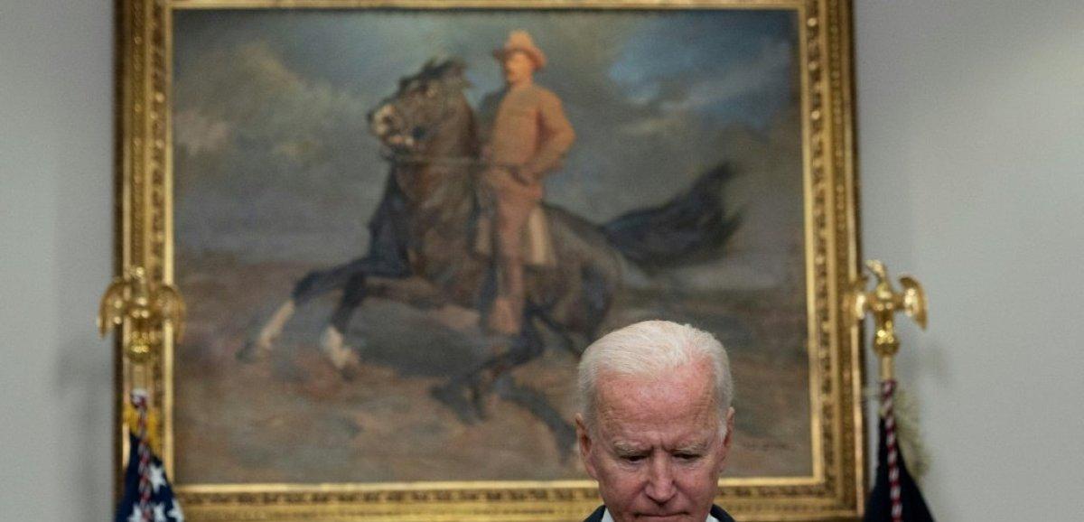 Face au retrait d'Afghanistan, Biden tente de reprendre la main sur la communication