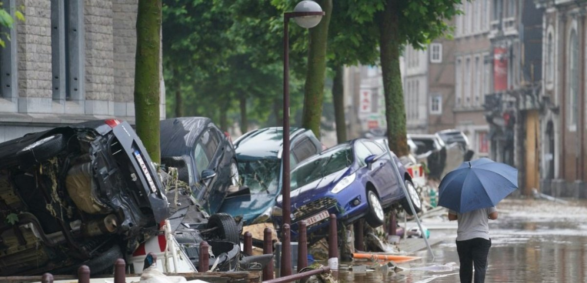 Inondations en Allemagne et Belgique: le réchauffement climatique en cause