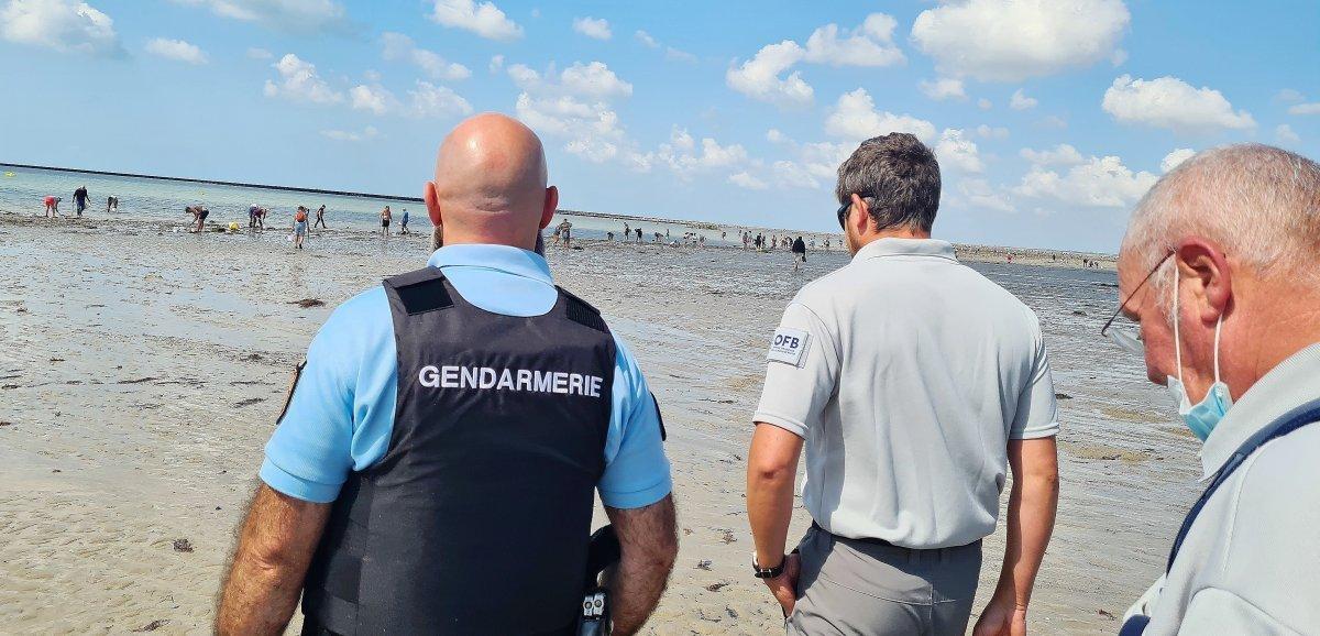 Manche. Opération de prévention contre les risques d'isolement par la marée