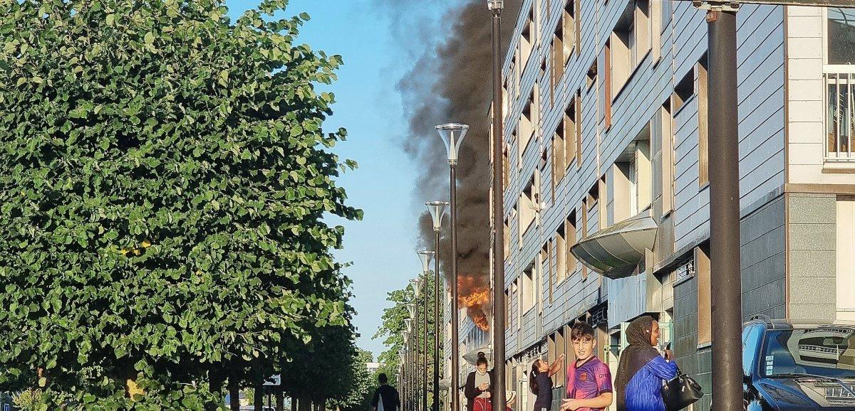Alençon. Incendie d'appartement : 25 personnes relogées