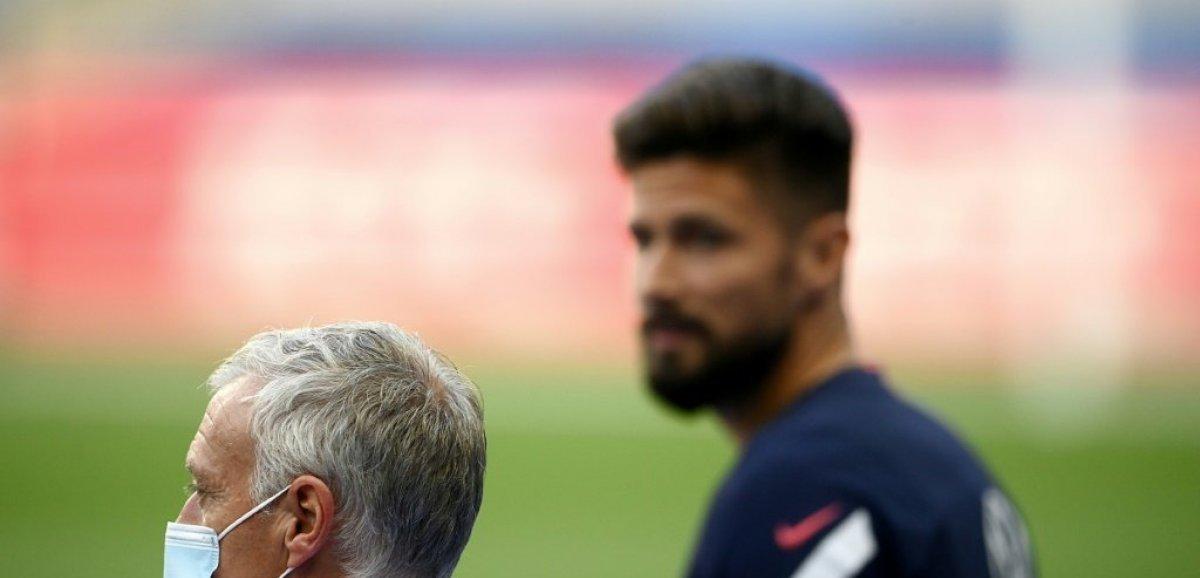Qualif. Mondial: Giroud non convoqué avec les Bleus, première pour Théo Hernandez, Tchouaméni, Veretout et Diaby