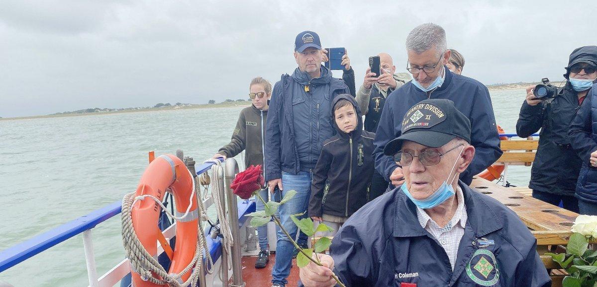 Manche. 77 ans après, le vétéran Harper Coleman revientà Utah-Beach