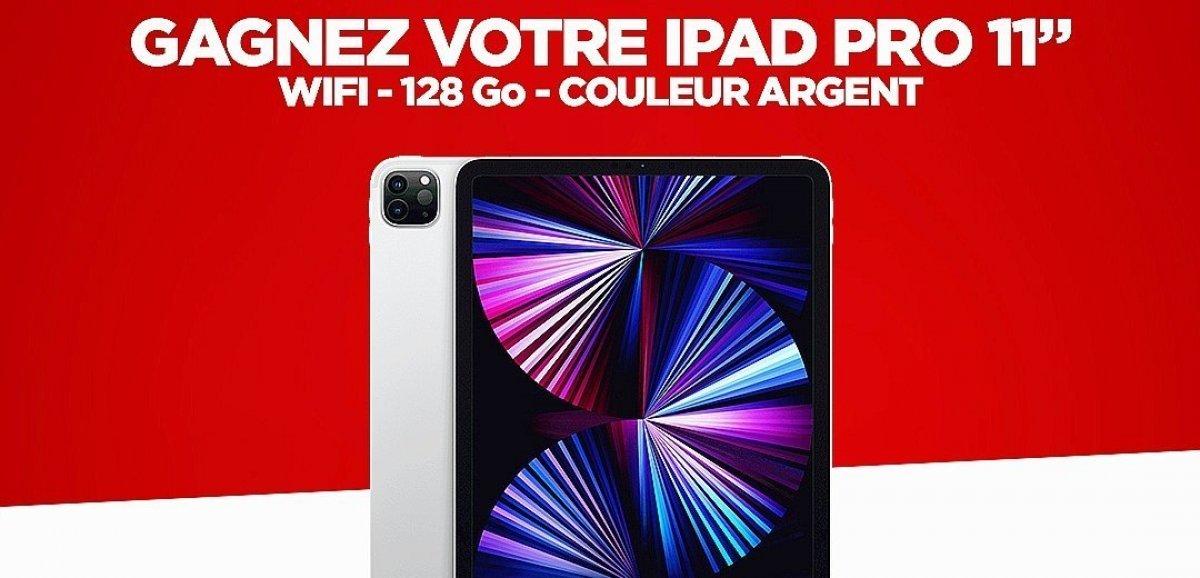 Cadeaux. Pour la rentrée, gagnez votre iPad Pro 11 avec Tendance Ouest