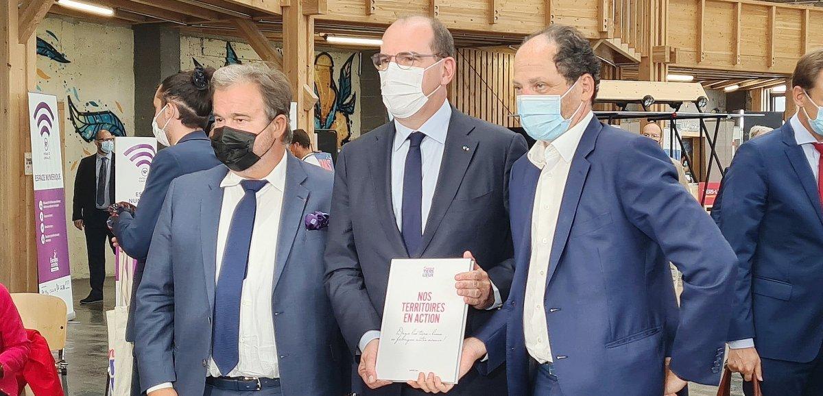 Economie. En visite dans le Calvados, Jean Castexréaffirme son soutien aux tiers-lieux