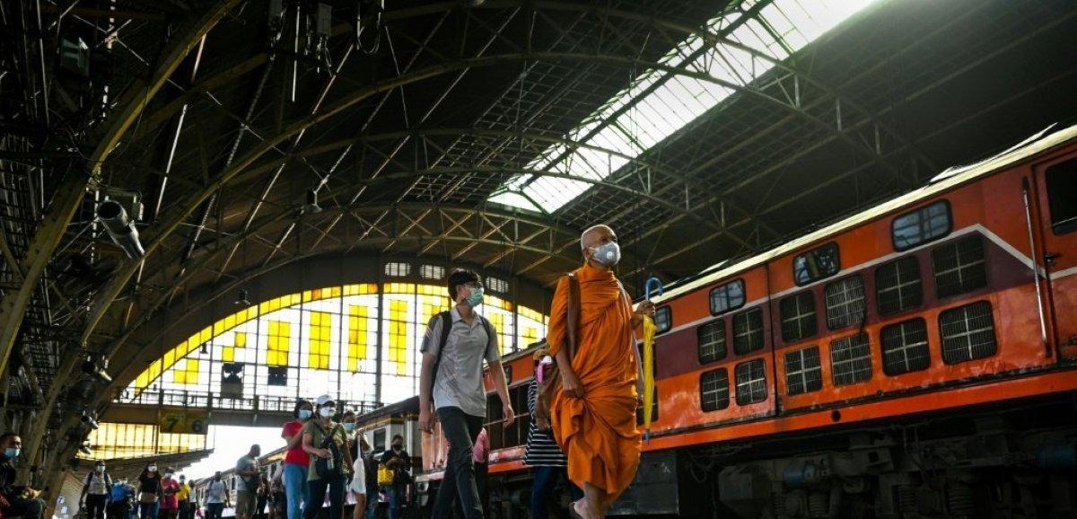 Terminus pour la gare historique de Bangkok