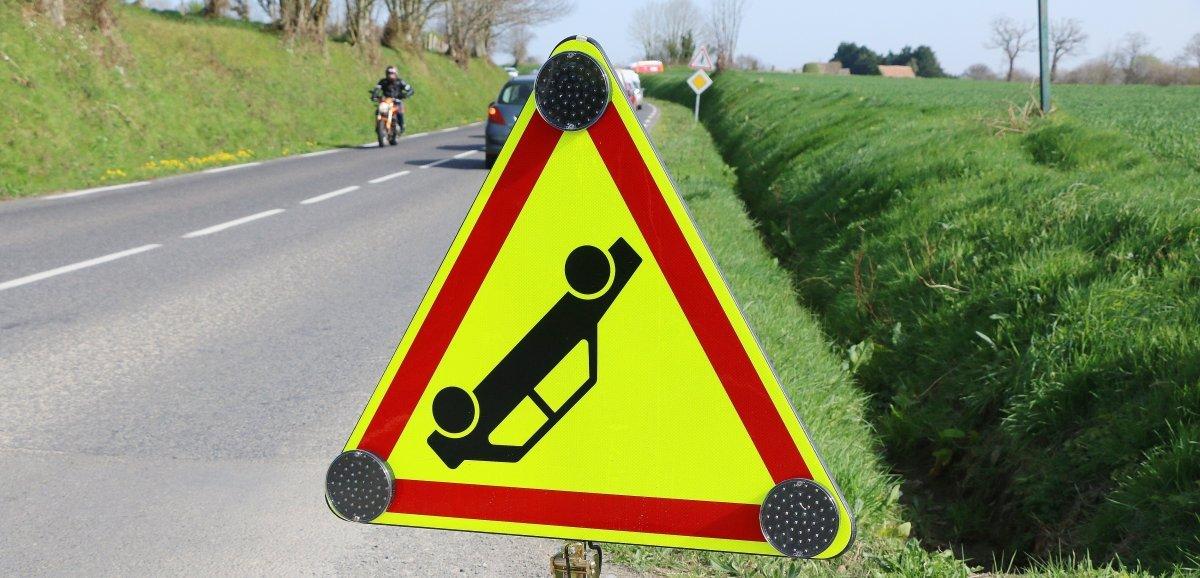 Près de Coutances. Un homme de 88 ans grièvement blessé dans un accident