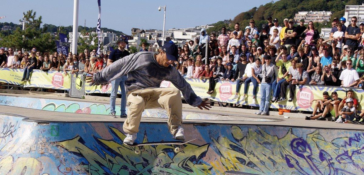 [Photos]Le Havre. Au FISE, trois jours de folies en BMX, skate, roller et trottinette freestyle