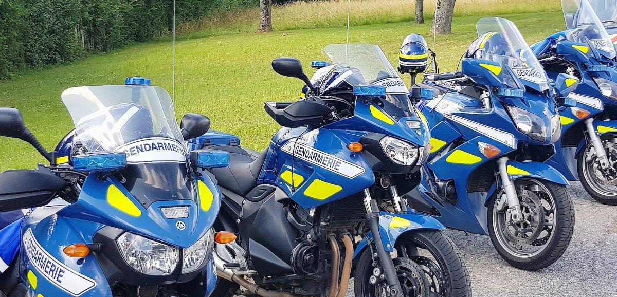 Orne. Deux gendarmes victimes d'une collision durant leur mission