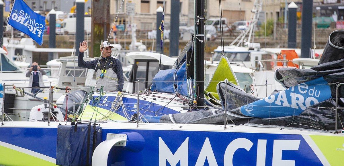 Solitaire du Figaro. Pierre Quiroga s'impose à Fécamp, les Normands dans le top 10