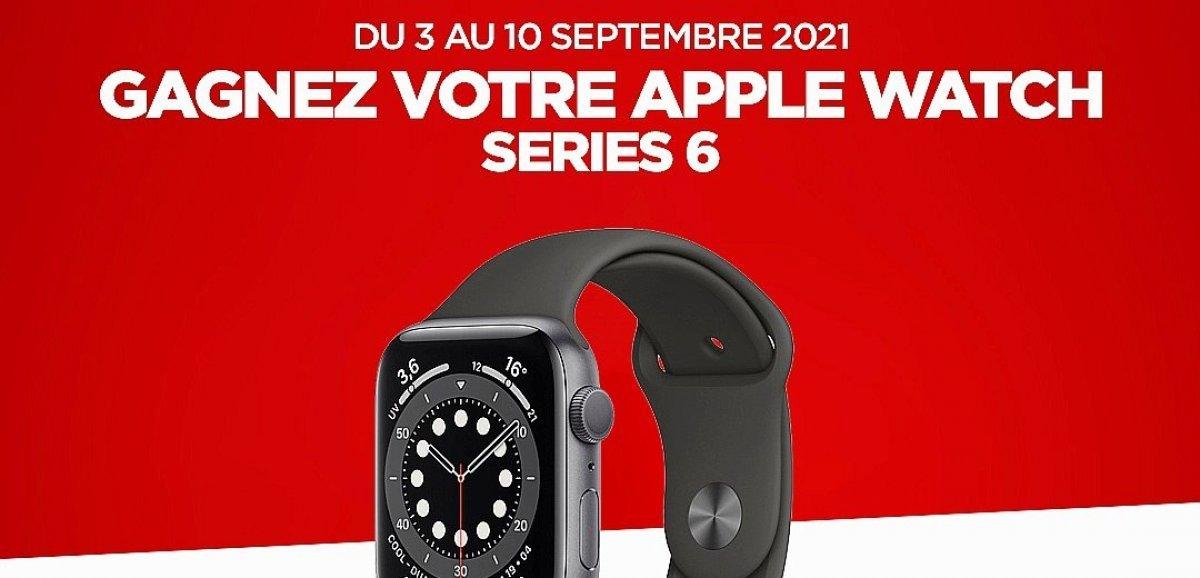 Cadeaux. Gagnez cette semaine une montre connectée Apple avec Tendance Ouest!