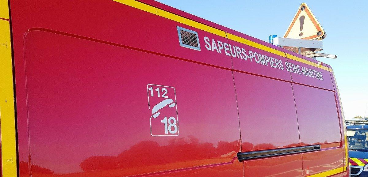Seine-Maritime. Deux familles relogées après un feu de garage