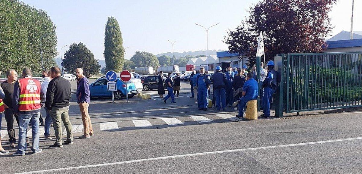 Près du Havre. Nouveau mouvement de grève à Synthomer