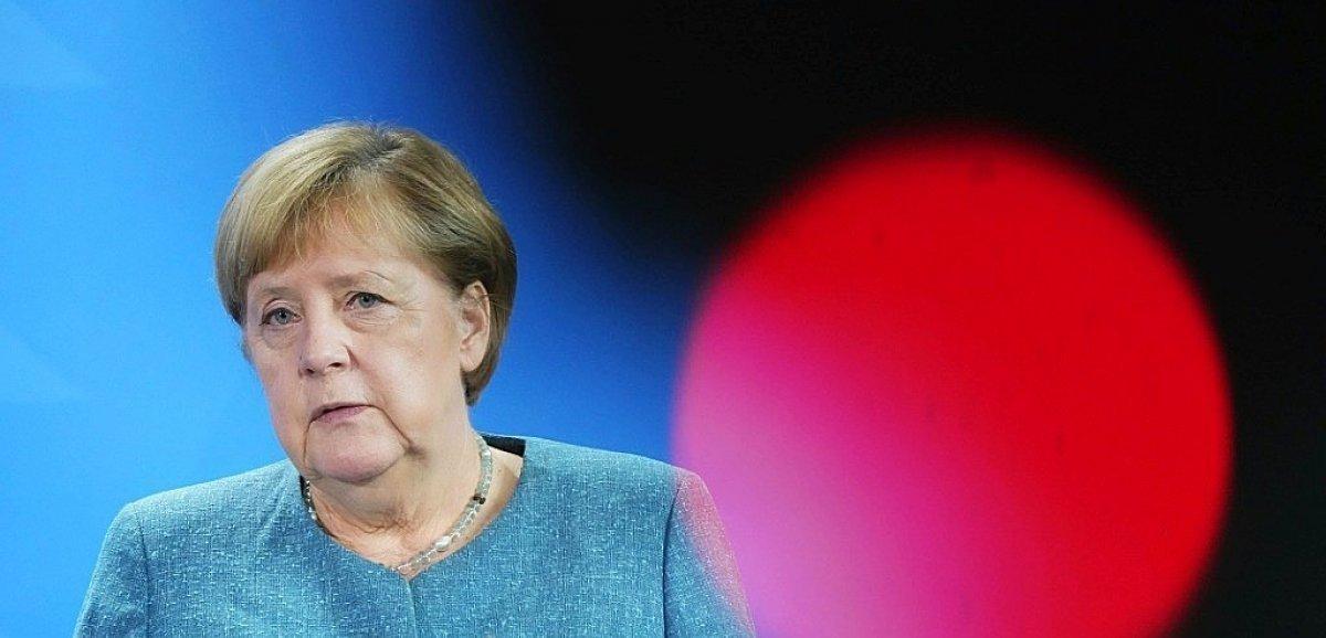 Allemagne: retour délicat pour Merkel dans les régions sinistrées par les inondations