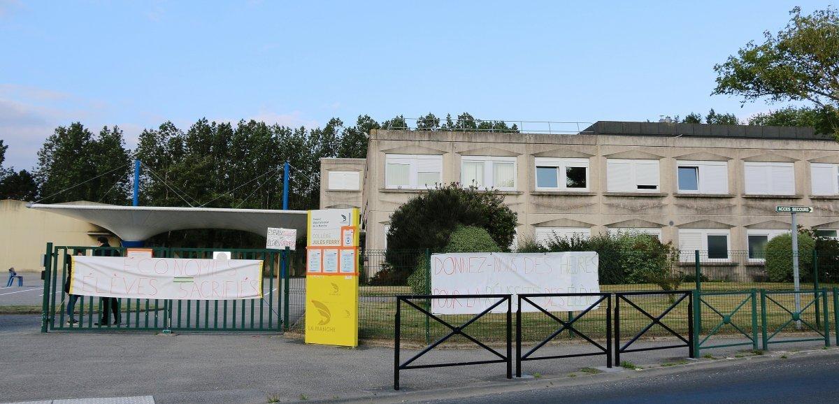 Cherbourg-en-Cotentin. Pas de rentrée des classes au collègede Querqueville