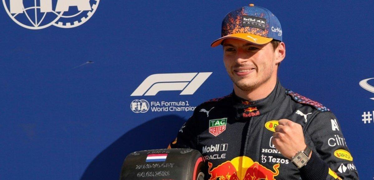F1: Verstappen en pole de