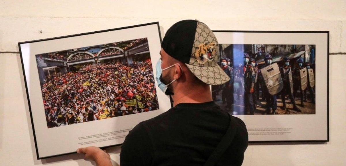 Photojournalisme: Visa d'or News pour un photographe anonyme birman