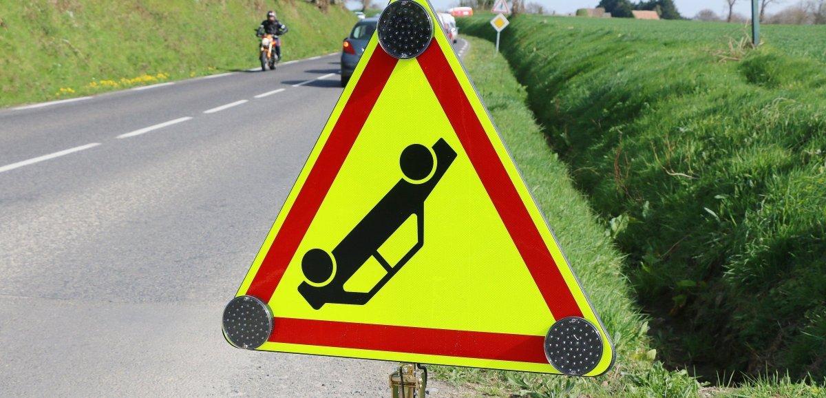 Condé-sur-Vire. Un homme de 27 ans grièvement blessé après plusieurs tonneaux