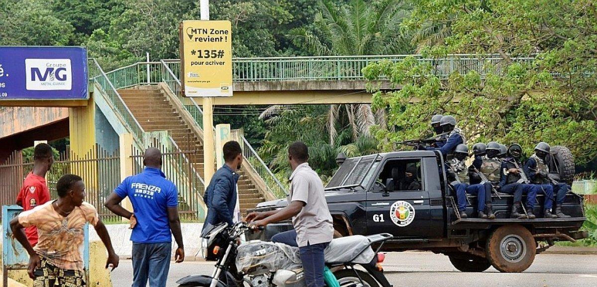 Guinée: tirs nourris dans la capitale, théâtre d'une probable tentative de coup d'Etat militaire